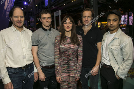Philip Bird (Sparrow/Stan), Emmet Byrne (Sean Bourke), Cara Horgan (Miranda/Zinaida), Geoffrey Streatfeild (George Blake) and Danny Lee Wynter (Philip/Viktor)