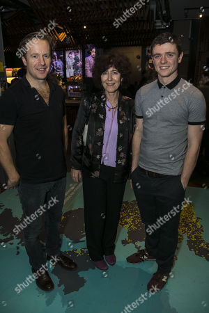 Geoffrey Streatfeild (George Blake), Victoria Gray and Emmet Byrne (Sean Bourke)