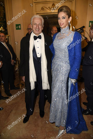 Editorial photo of 'Umberto Giordano' Opening Night, Milan, Italy - 07 Dec 2017