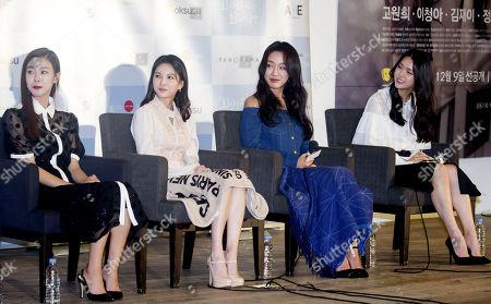 Ko Won-Hee, Jei Fiestar, Jung Yeon-Joo and Kim Ji-Eun
