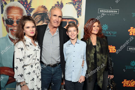 "Editorial image of Broad Green Pictures ""Just Getting Started"" Los Angeles Premiere Sponsored by Greater Palm Springs Convention & Visitors Bureau at ArcLight Hollywood, Los Angeles, CA, USA - 7 December 2017"