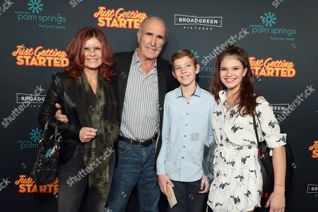 "Editorial photo of Broad Green Pictures ""Just Getting Started"" Los Angeles Premiere Sponsored by Greater Palm Springs Convention & Visitors Bureau at ArcLight Hollywood, Los Angeles, CA, USA - 7 December 2017"