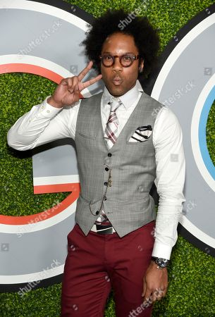 Jonathan Fernandez arrives at the GQ Men of the Year Party at the Chateau Marmont, in Los Angeles