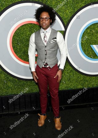 Jonathan Fernandez arrives at the GQ Men of the Year Party at Chateau Marmont, in Los Angeles