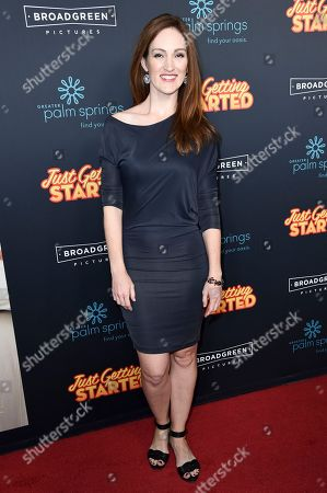 """Editorial image of LA Premiere of """"Just Getting Started"""", Los Angeles, USA - 07 Dec 2017"""