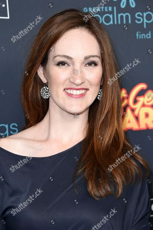 """Stock Picture of Kristen Rakes attends the LA Premiere of """"Just Getting Started"""" at ArcLight Hollywood, in Los Angeles"""