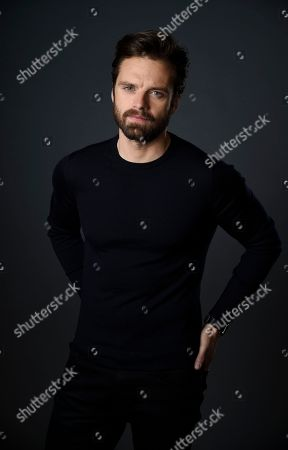 "Actor Sebastian Stan, a cast member in the film ""I, Tonya,"" poses for a portrait at The Hollywood Roosevelt Hotel in Los Angeles. The film tells the story of the disgraced figure skater Tonya Harding from youth to middle age, including the infamous assault on fellow skater Nancy Kerrigan"