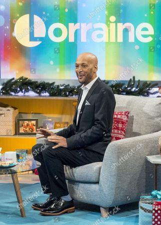 Editorial photo of 'Lorraine' TV show, London, UK - 08 Dec 2017