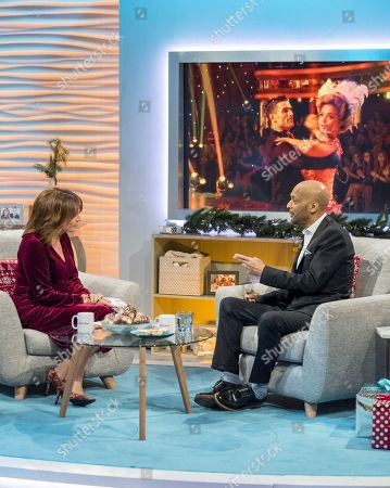 Lorraine Kelly and Tommy Blaize
