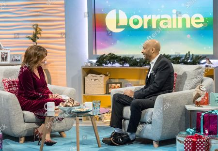 Stock Image of Lorraine Kelly and Tommy Blaize