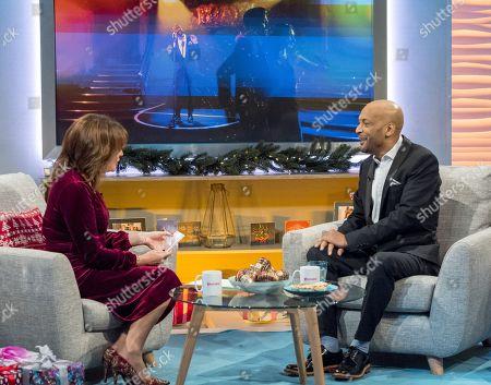 Editorial picture of 'Lorraine' TV show, London, UK - 08 Dec 2017