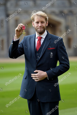 Andrew Hodge receives an OBE for services to Rowing
