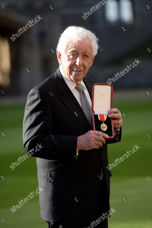 Frank Lowy, chairman of Westfield Corporation, receives a knighthood for services to business and philanthropy