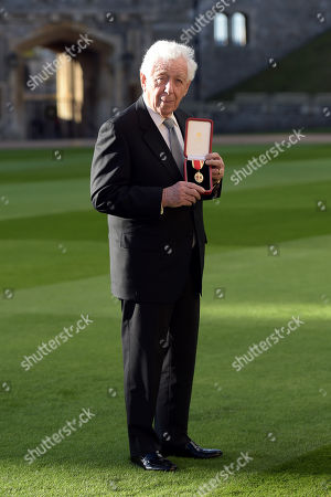 Editorial photo of Investitures at Windsor Castle, UK - 08 Dec 2017