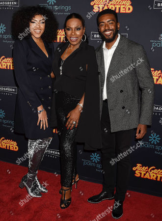 Ivy Coco, Sheryl Lee Ralph and Etienne Maurice
