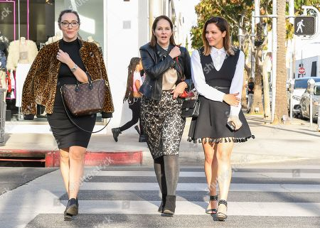 Editorial image of Katharine McPhee out and about, Los Angeles, USA - 08 Dec 2017