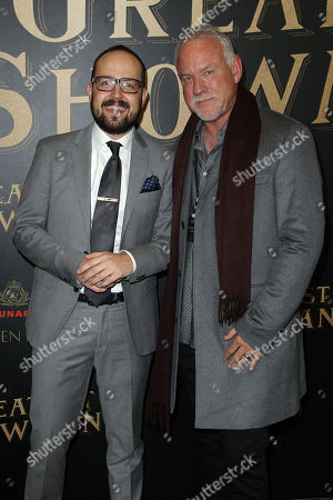 """Editorial photo of Twentieth Century Fox In partnership with Cunard and Swarovski for the world premiere of """"The Greatest Showman"""" on Queen Mary 2, New York, USA - 08 Dec 2017"""