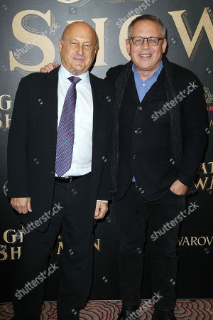 """Editorial picture of Twentieth Century Fox In partnership with Cunard and Swarovski for the world premiere of """"The Greatest Showman"""" on Queen Mary 2, New York, USA - 08 Dec 2017"""