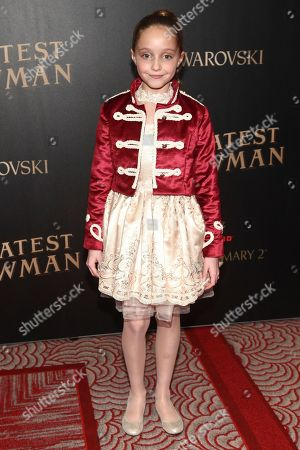"""Editorial photo of World Premiere of """"The Greatest Showman"""", New York, USA - 08 Dec 2017"""