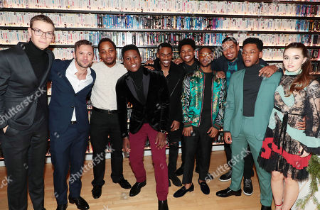 Stock Image of Will Poulter, Austin Hebert, Leon Thomas III, Joseph David-Jones, Malcolm David Kelley, Nathan Davis Jr., Algee Smith, Laz Alonso, Jacob Latimore and Kaitlyn Dever