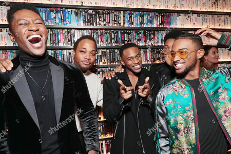 Joseph David-Jones, Leon Thomas III, Malcolm David Kelley and Algee Smith