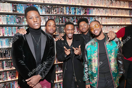 Joseph David-Jones, Leon Thomas III, Malcolm David Kelley, Nathan Davis Jr. and Algee Smith