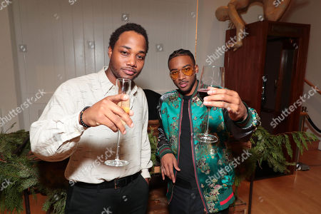 Stock Picture of Leon Thomas III and Algee Smith