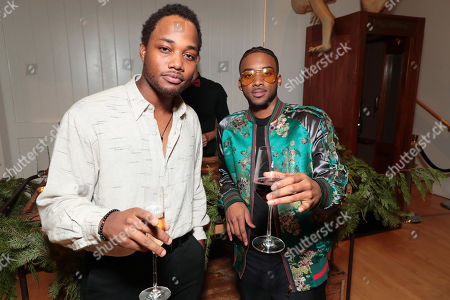 Leon Thomas III and Algee Smith