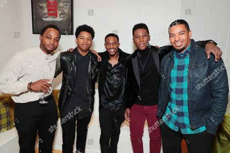 Leon Thomas III, Nathan Davis Jr., Malcolm David Kelley, Joseph David-Jones and Laz Alonso