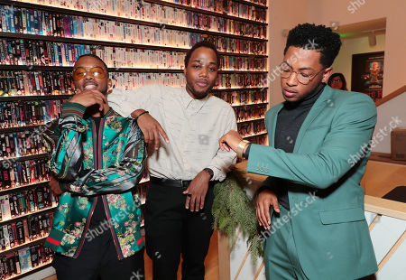 Algee Smith, Leon Thomas III and Jacob Latimore