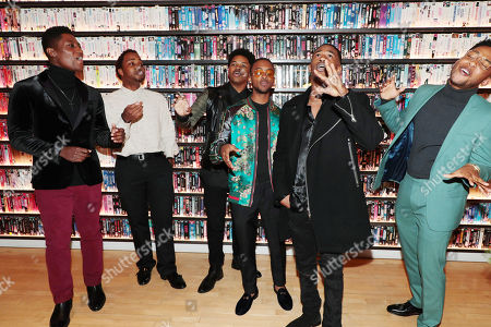 Joseph David-Jones, Leon Thomas III, Nathan Davis Jr., Algee Smith, Malcolm David Kelley and Jacob Latimore