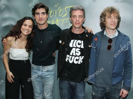 Alice Braga, Henry Zaga, Josh Boone, Knate Lee
