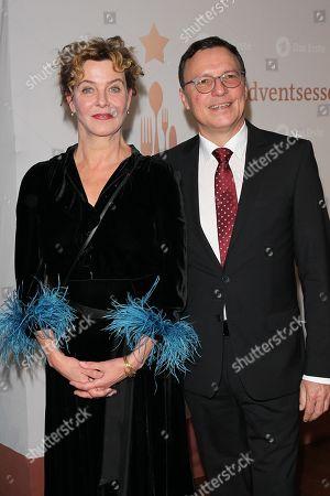 Stock Photo of Margarita Broich, Volker Herres,.