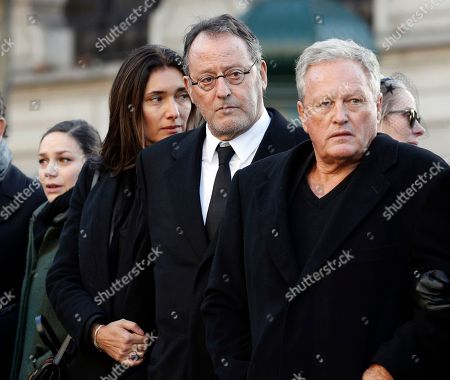 Editorial photo of Rocker Funeral, Paris, France - 09 Dec 2017