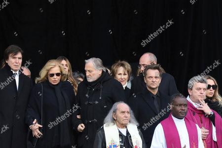 Editorial image of Rocker Funeral, Paris, France - 09 Dec 2017