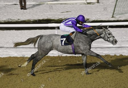 Mr Reckless and Timmy Murphy win the 32Red.com EBF Novice Stakes at Wolverhampton.