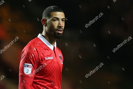 Leon Best of Charlton Athletic during Charlton Athletic vs Portsmouth, Sky Bet EFL League 1 Football at The Valley on 9th December 2017