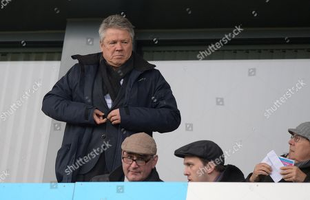 Steve Perryman Director of Football at Exeter City during the Sky Bet League Two match between Colchester United and Exeter City at The Western Homes Community Stadium on December 9th 2017 in Colchester, Essex, England. (Photo by Gareth Davies/PPAUK)