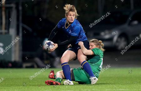 Leinster vs Connacht. ConnachtÕs Mairead Coyne with Susan Vaughan of Leinster