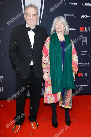 Stock Image of Stephen Frears mit Parnter  Anne Rothenstein