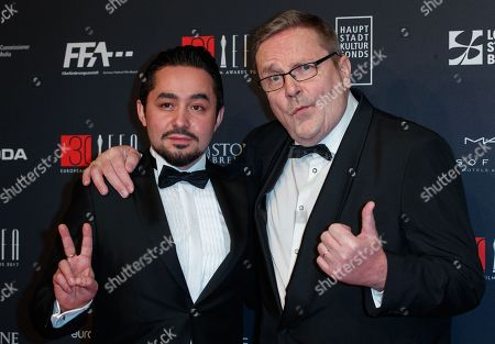 Stock Image of Sakari Kuosmanen and Sherwan Haji