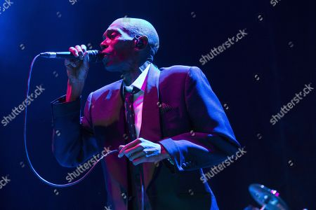 Editorial picture of Maxi Jazz & the E-Type Boys in concert at the SEC Armadillo, Glasgow, Scotland, UK - 9th December 2017