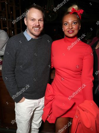 Stock Photo of Marc Webb and Sia
