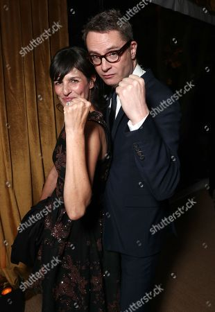Sharon Tal Yguado and Nicolas Winding Refn