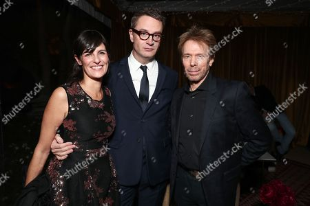 Sharon Tal Yguado, Nicolas Winding Refn and Jerry Bruckheimer