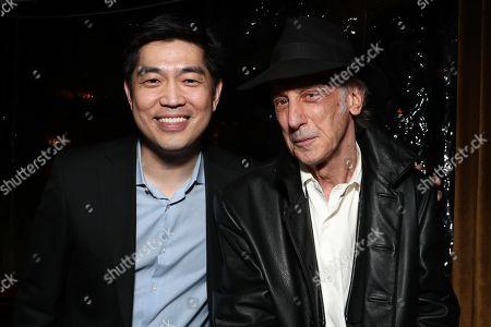 Stock Photo of Amazon Studios Head Albert Cheng and Ed Lachman
