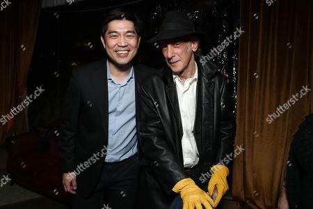 Amazon Studios Head Albert Cheng and Ed Lachman