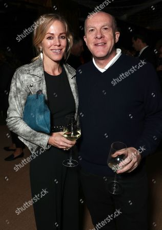 Stock Picture of Cassian Elwes and guest
