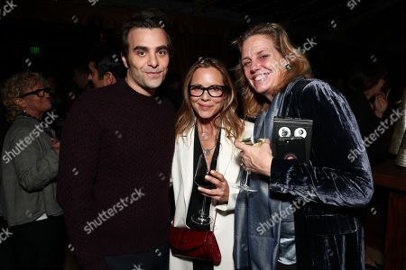 Nicholas Jarecki, Maria Bello and guest