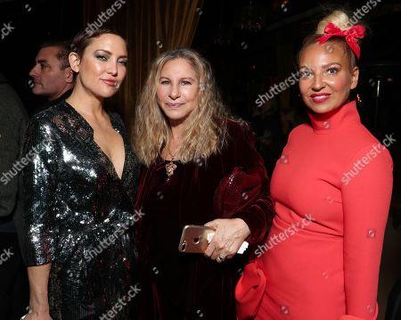 Kate Hudson, Barbra Streisand and Sia Furler